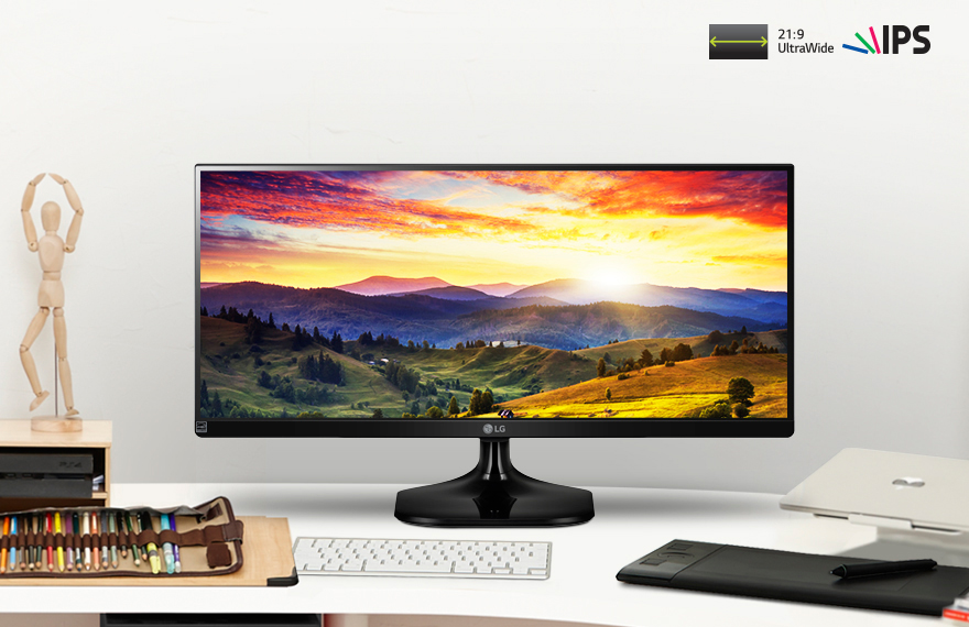 21:9 UltraWide® Full HD IPS Display