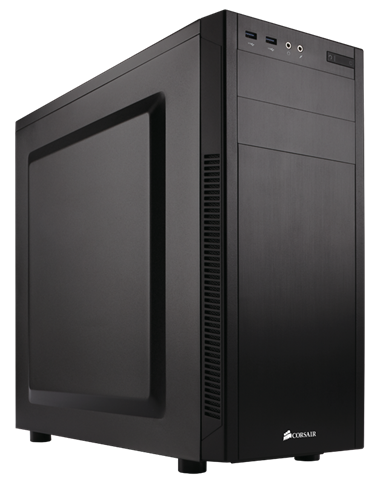 corsair atx carbide 100r silent edition case black pn cc-9011077-ww