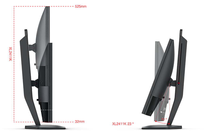 24 zowie by benq xl2411k fhd 144hz tn monitor