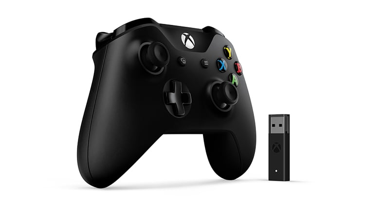 Xbox Controller + Wireless Adapter for Windows 10