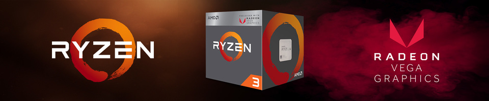 Ryzen 3 processor with Vega graphics
