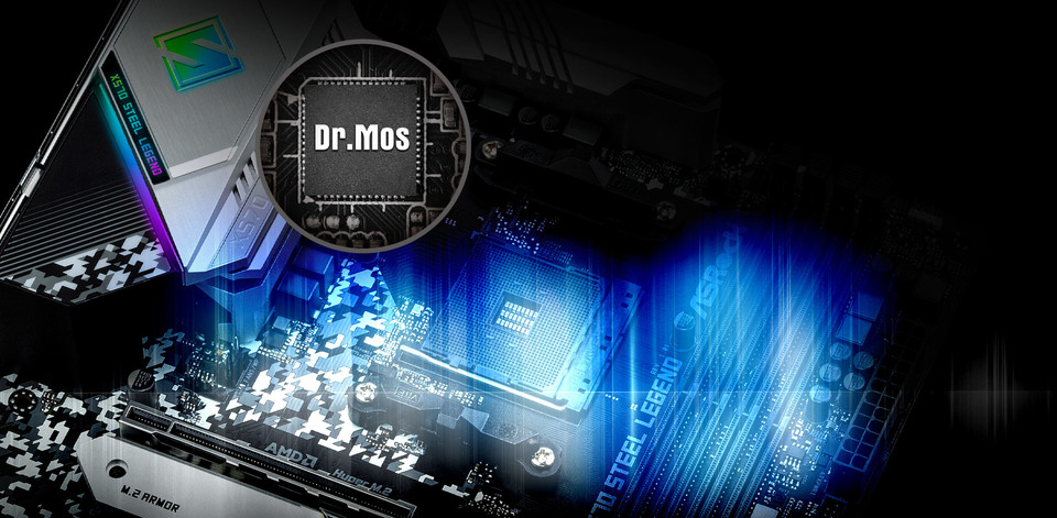 Asrock AM4 ATX X570 STEEL LEGEND DDR4 Motherboard | Computer