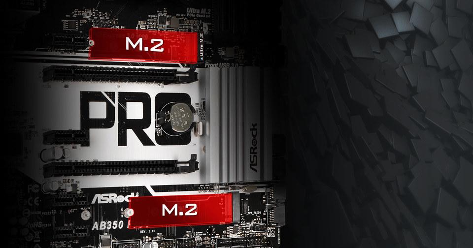 Asrock AM4 ATX AB350 PRO4 AM4 Motherboard | Computer Alliance