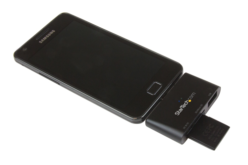Maximize portability with a compact card reader