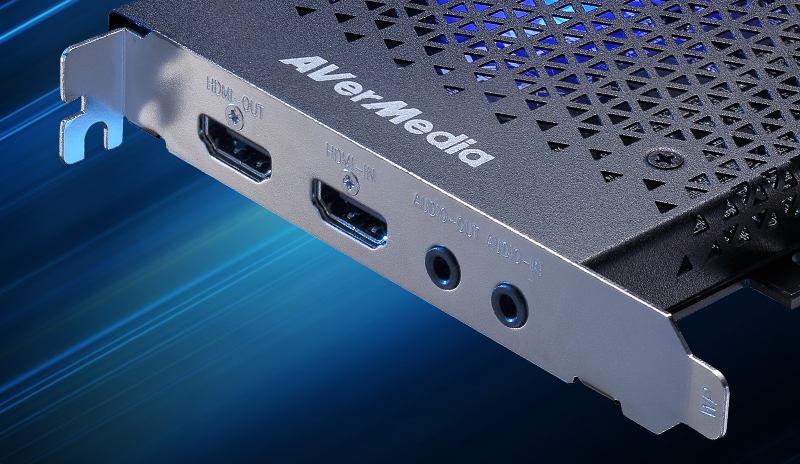 Flexible Audio Connection.LGHD2 has both input and output 3.5mm audio ports.