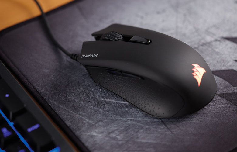 Corsair K55 RGB Keyboard and Harpoon RGB Mouse PN CH-9206115