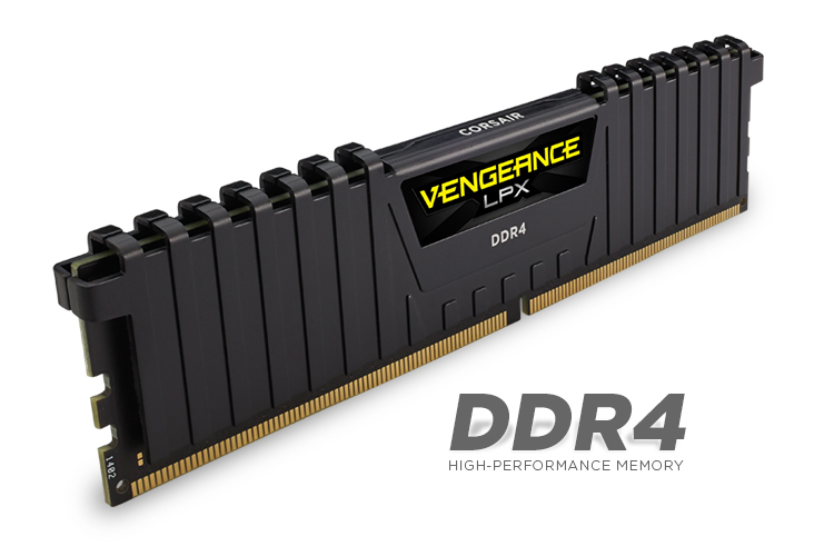 32GB DDR4 Corsair CMK32GX4M2A2666C16 (2x16G) 2666MHz