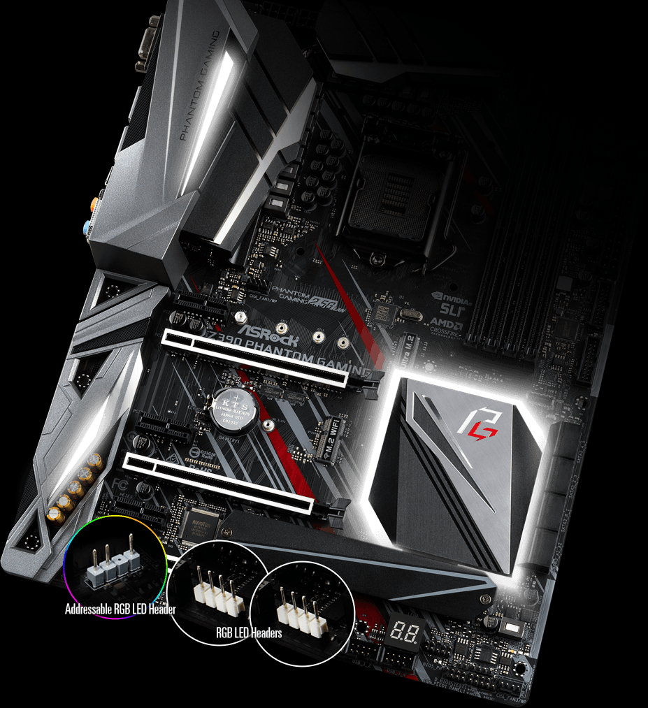 Asrock S1151 ATX Z390 PHANTOM Gaming 6 DDR4 Motherboard