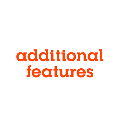 Additional Features Banner