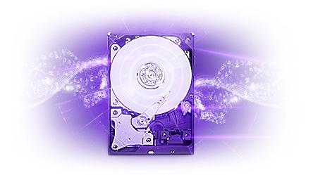 Western Digital 8TB 3.5 SATA 6Gb/s Purple SV HDD 1