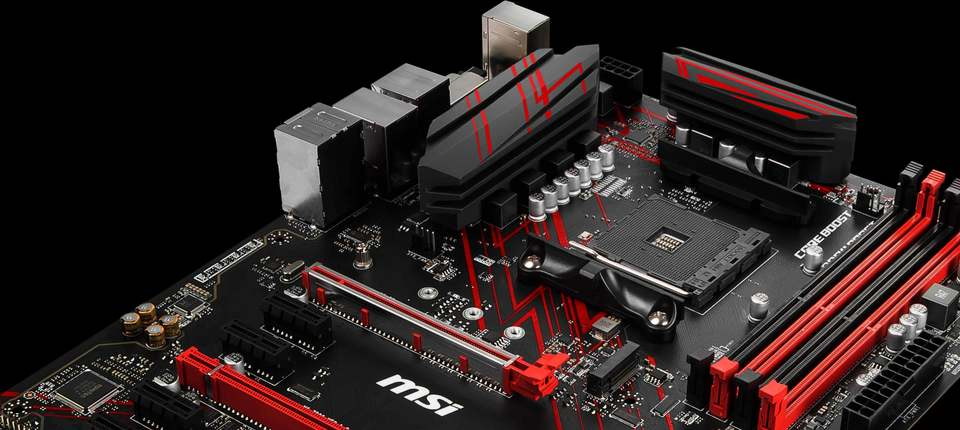 MSI AM4 ATX B450 GAMING PLUS DDR4 Motherboard | Computer Alliance