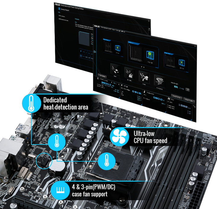 ASUS AM4 MicroATX Prime A320M-A Motherboard | Computer Alliance