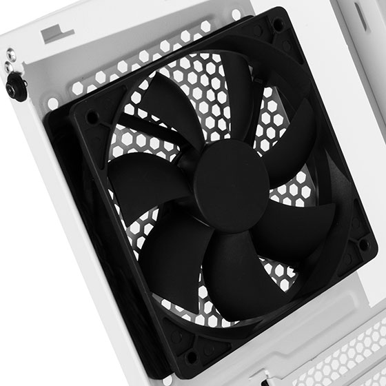 Included rear 120mm black fan (FAR1W-G)