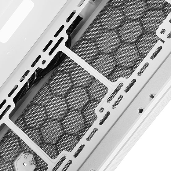 Front mesh panel and fan mounts (FAR1W-G)