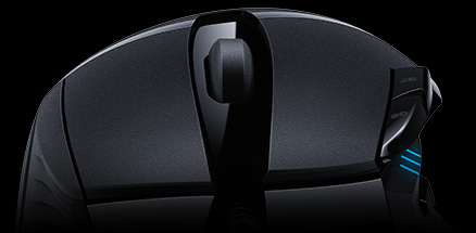 logitech g402 wired usb hyperion fury gaming mouse