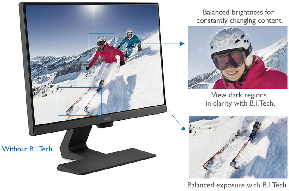 238 benq gw2480 fhd ultra slim bezel ips led monitor