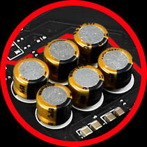 High Quality Audio Capacitors