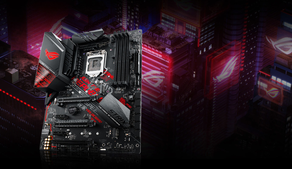 Details about ASUS S1151 ATX ROG STRIX Z390-H GAMING DDR4 Motherboard