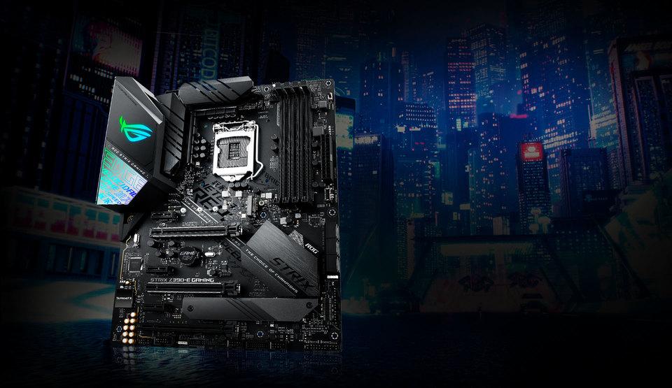 ASUS S1151 ATX ROG STRIX Z390-F GAMING DDR4 Motherboard | Computer