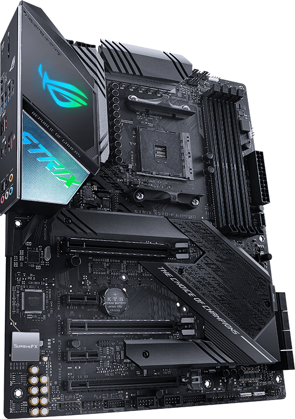 asus am4 atx strix x570-f gaming ddr4 motherboard
