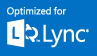 Optimized for Microsoft Lync