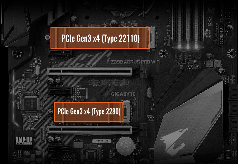 Gigabyte S1151 ATX Z390 AORUS Pro WIFI DDR4 Motherboard | Computer