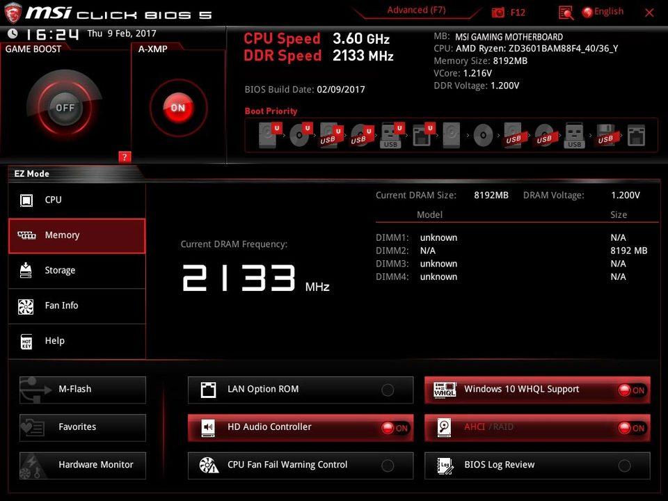 MSI AM4 MicroATX B450M BAZOOKA PLUS DDR4 Motherboard