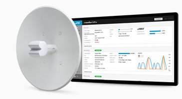 Ubiquiti Nsm5 Wireless 5ghz Access Point With Power Over