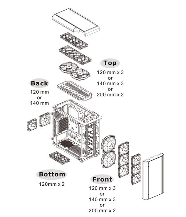 thermaltake atx level 20 gt rgb plus edition case  no psu  pn ca