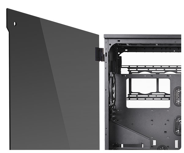 Thermaltake Full Atx View 91 Tempered Glass Rgb Case No