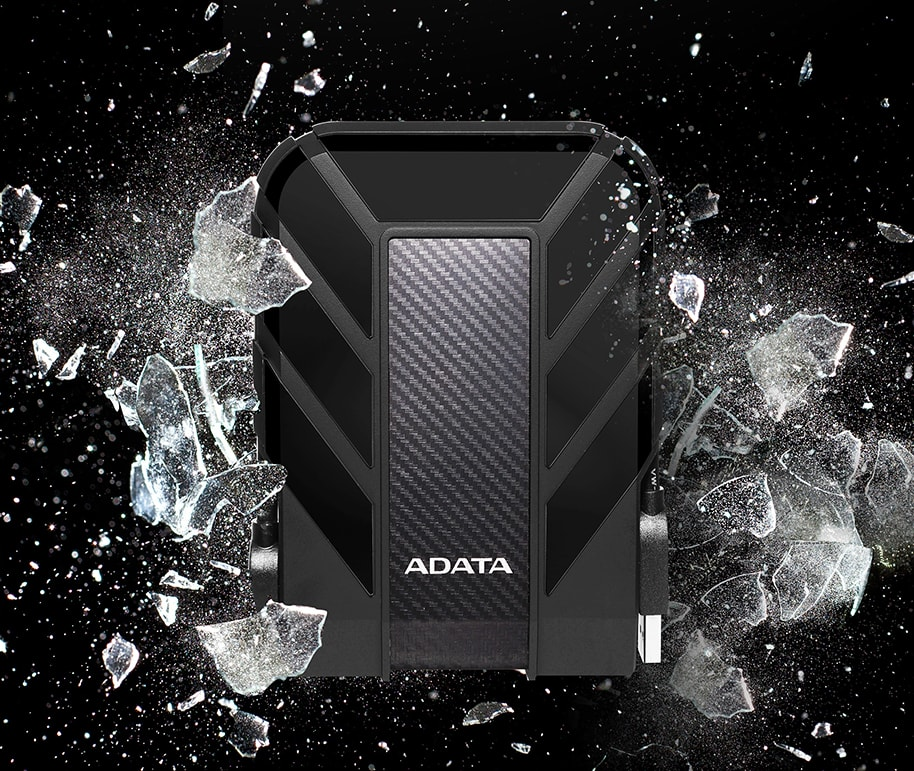 1tb adata ahd710p-1tu31-cbk durable waterproof shock resistant usb 31 hdd black