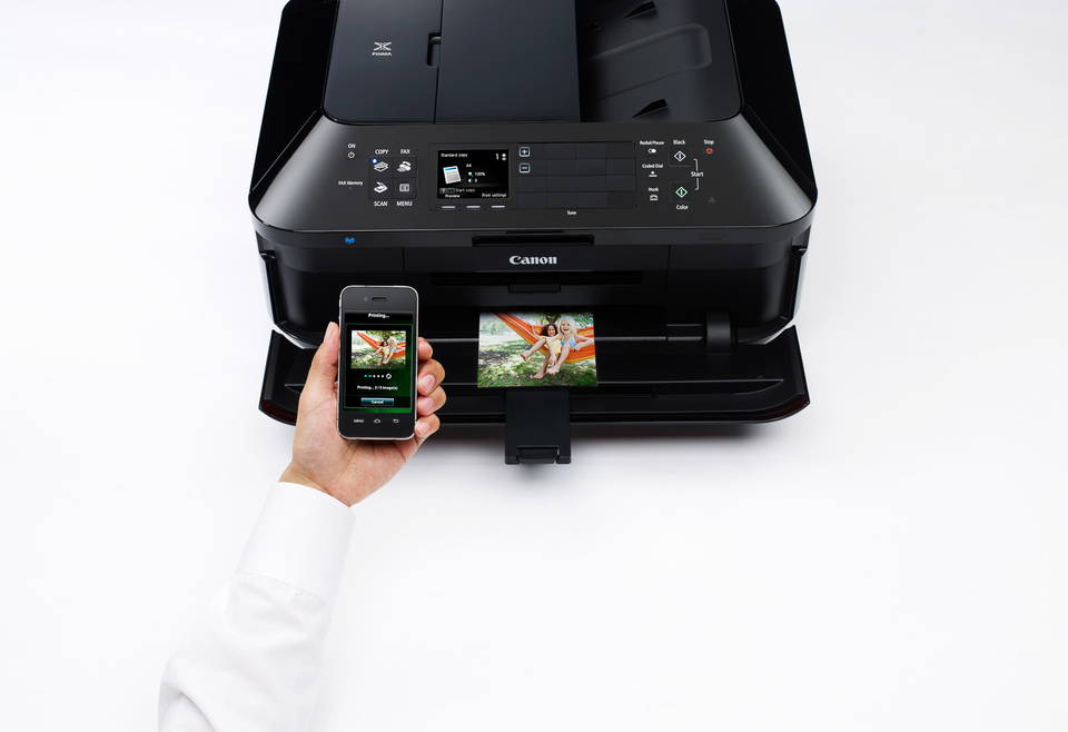 pixma mx926 printing from a mobile device