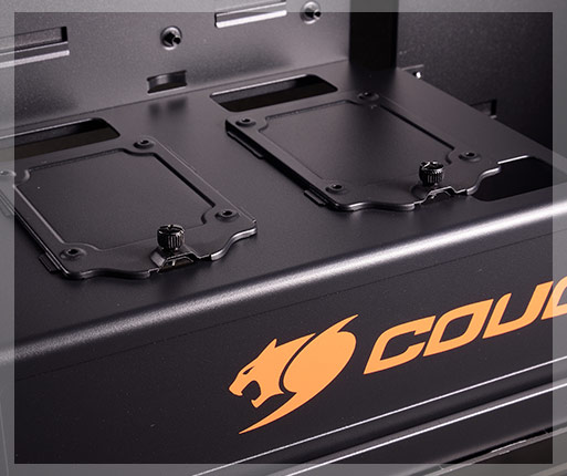 Cougar Panzer Dual Tempered Glass