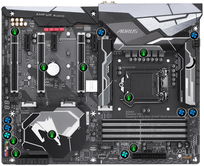Gigabyte S1151 ATX Z390 GAMING X DDR4 Motherboard | Computer Alliance