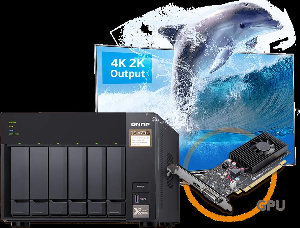 6 Bay QNAP TS-673-4G Gigabit NAS Unit | Computer Alliance