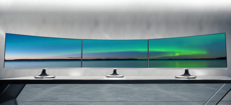 ASUS Designo Curve MX34VQ is a 34-inch display with an Ultra-Wide QHD panel that provides viewers with highly-detailed visuals