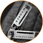 Everki Metal Zipper Pulls