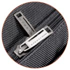 Large metal zippers and zipper pulls