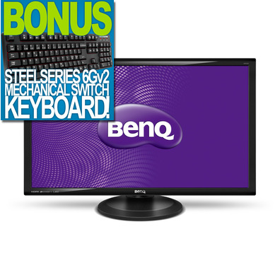 27 Benq GW2765HT IPS LED Monitor with Height Adjust, BONUS Steelseries 6Gv2 Mechanical Keyboard!