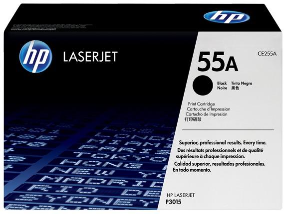 HP 55A Black Toner Cartridge (6,000 Pages) PN CE255A