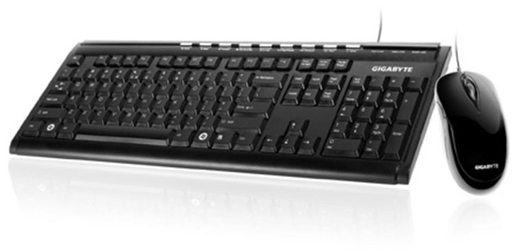 Gigabyte KM6150 Wired USB Keyboard & Mouse | Computer Alliance