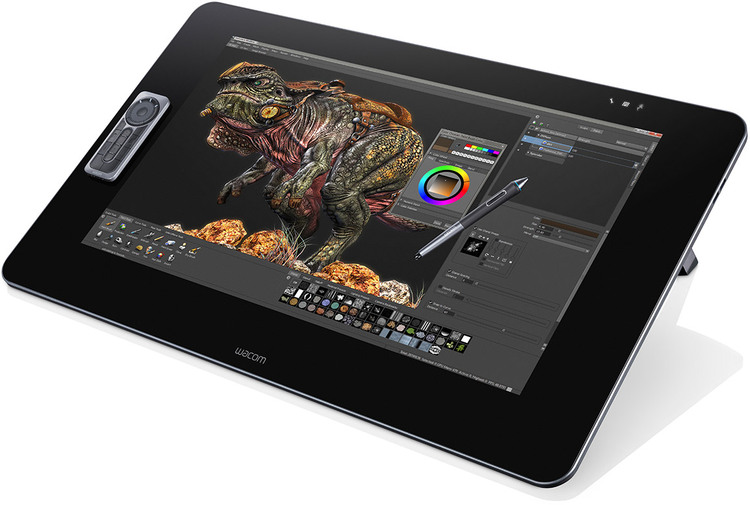"27"" Wacom Cintiq 27QHD DTK-2700/K0-C Interactive Pen Only Display"