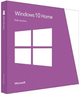Microsoft Windows 10 Home 64bit OEM DVD PN KW9-00139