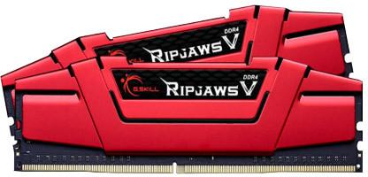 8GB DDR4 G.Skill F4-2400C15D-8GVR (2x4G) 2400Mhz Ripjaws V RAM