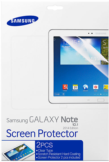 Samsung Screen Protector for Galaxy Note 10.1 2014 PN ET-FP600CTEGWW