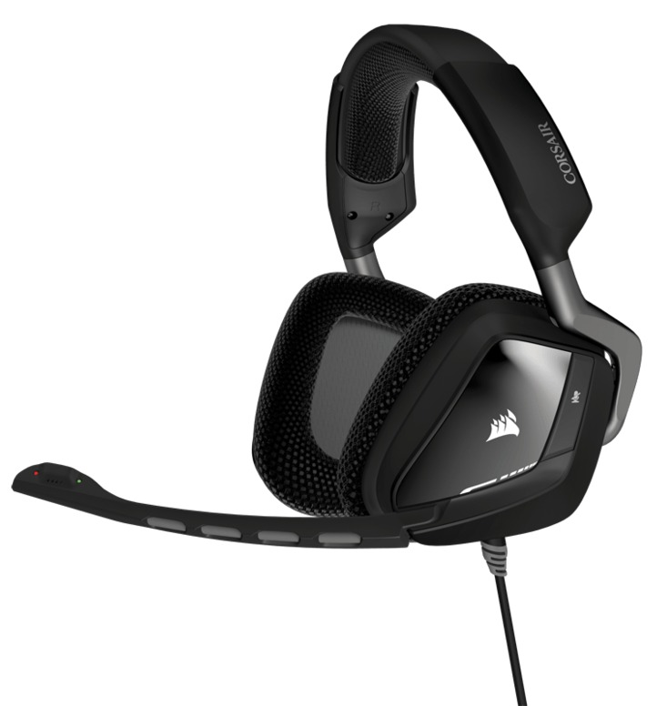 Corsair VOID USB Carbon Dolby 7.1 Gaming Headset PN CA-9011130-AP