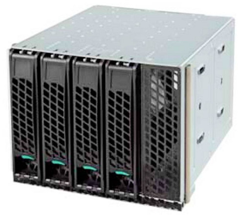 4 Bay Intel Hot Swap Drive Cage For P4000 Series Chassis