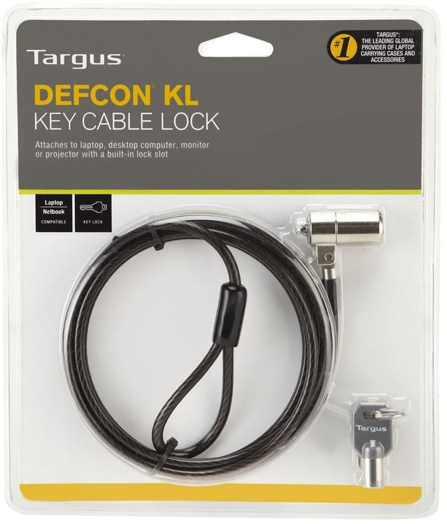 Targus DEFCON Security Cable and Lock
