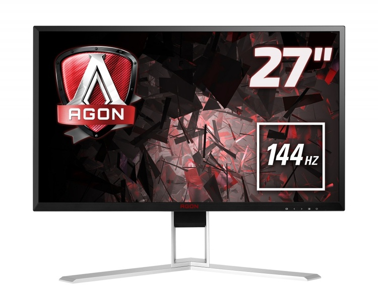 "27"" AOC AGON AG271QX WQHD 144Hz Gaming Monitor with Speakers"