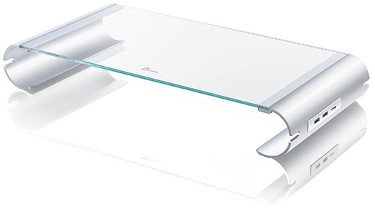 j5create Monitor Stand with 3-Port USB 3.0 HUB